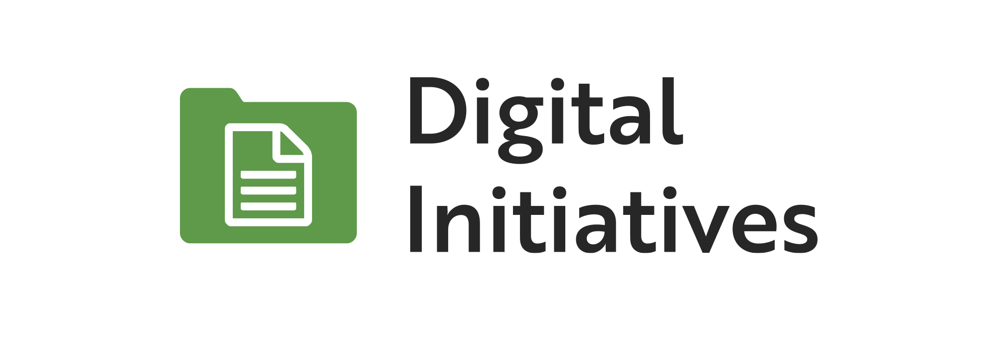 Digital Initiatives logo.