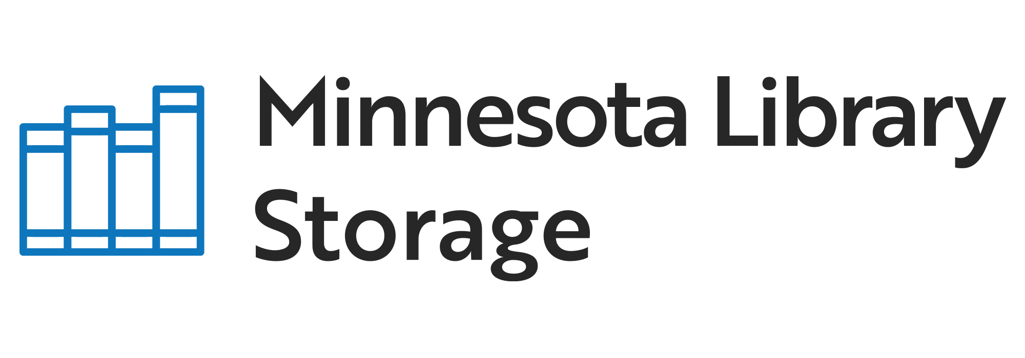 Minnesota Library Storage logo.