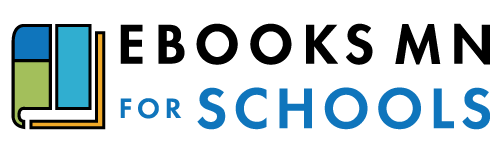 Ebooks MN for Schools logo.