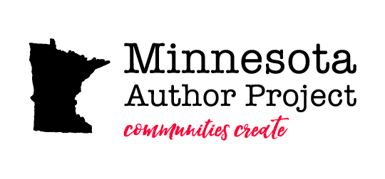 The logo for the Minnesota Author Project: Communities Create
