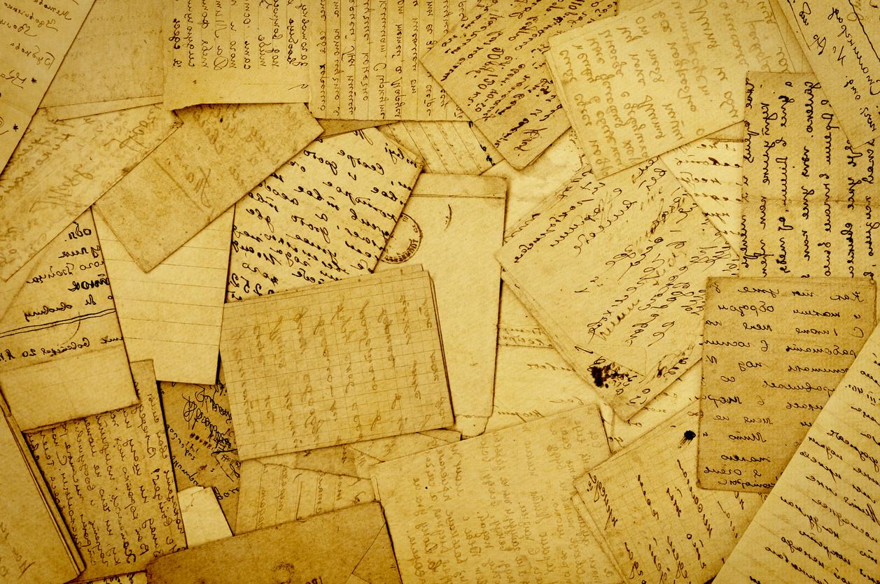 Historical letters and documents