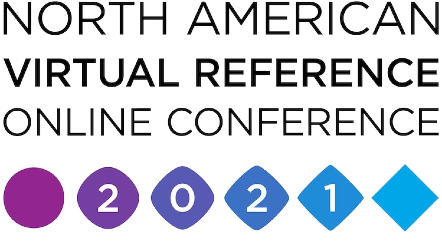 North American Virtual Reference Online Conference logo.