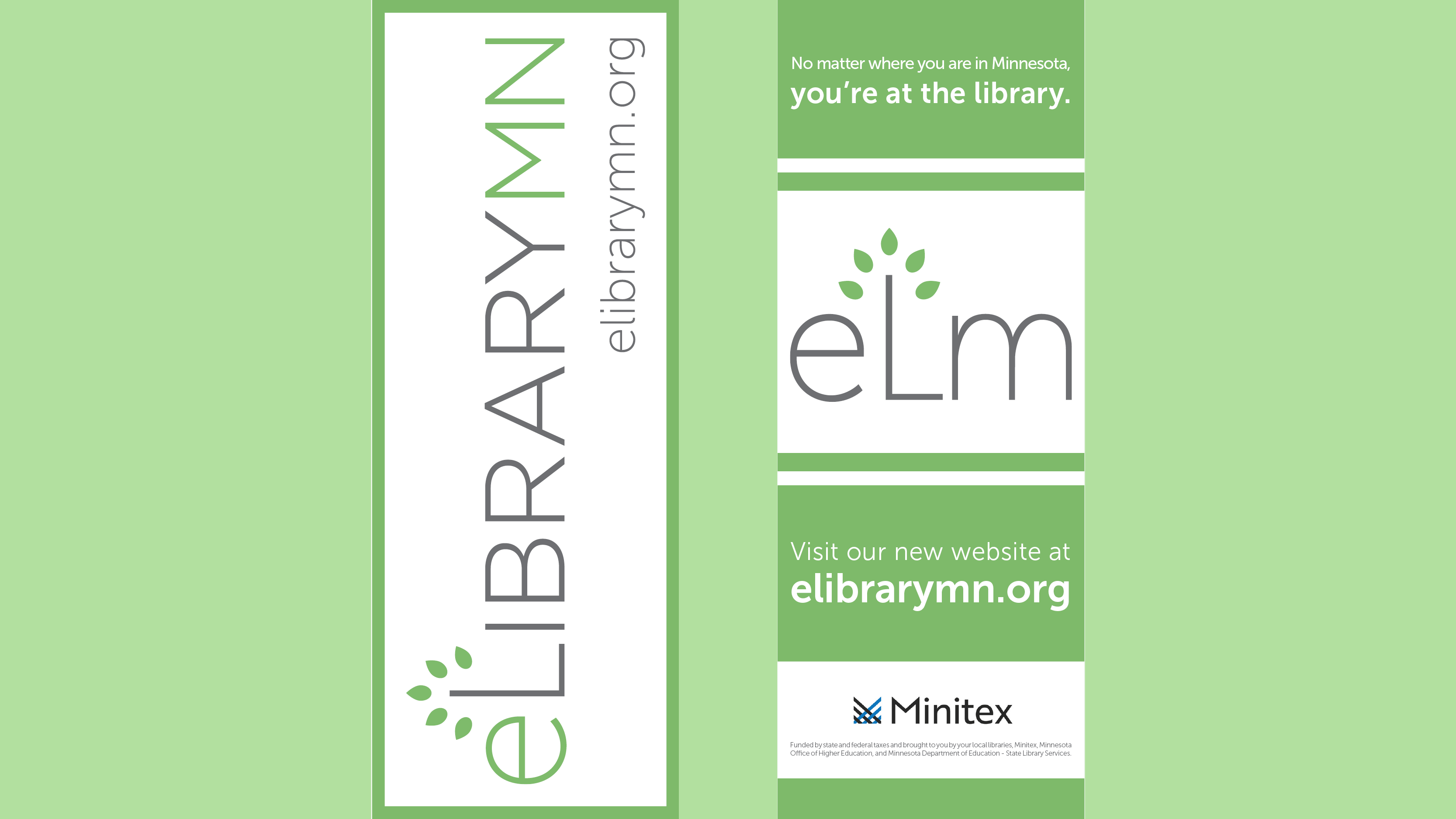 eLibrary Minnesota bookmark