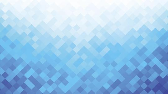 A range of blue pixels